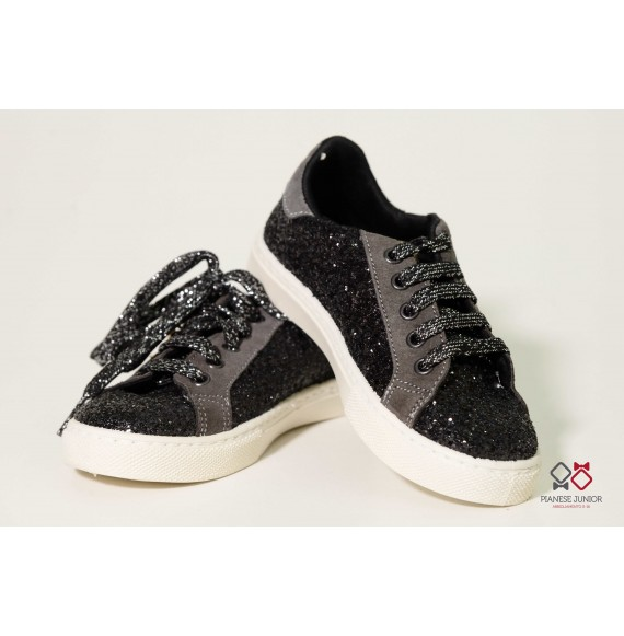 Sneakers bassa glitter