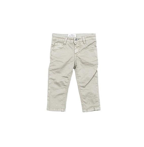 Pantalone gabardine 5 tasche con bandana
