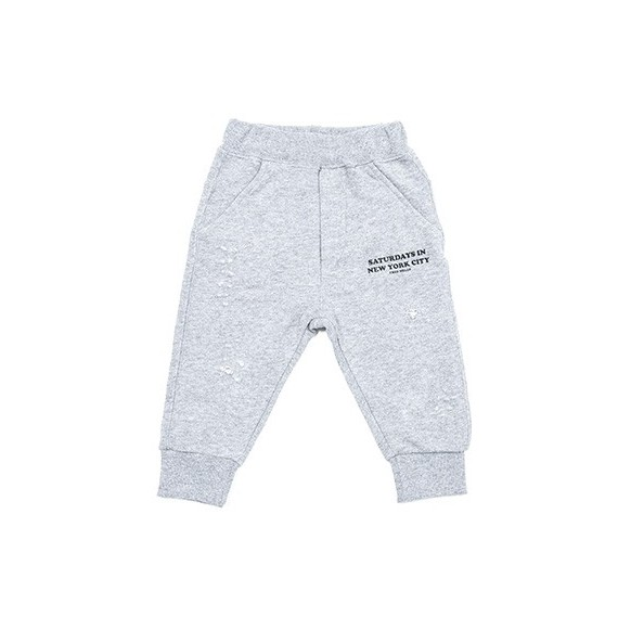 Pantalone in felpa con rotture