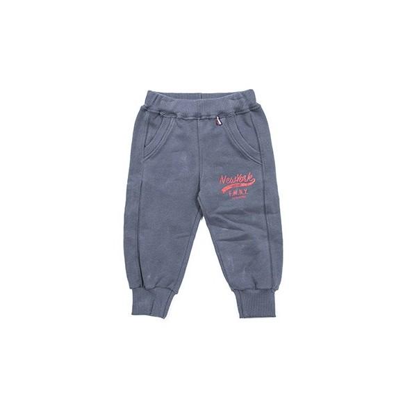 Pantalone in felpa con stampa