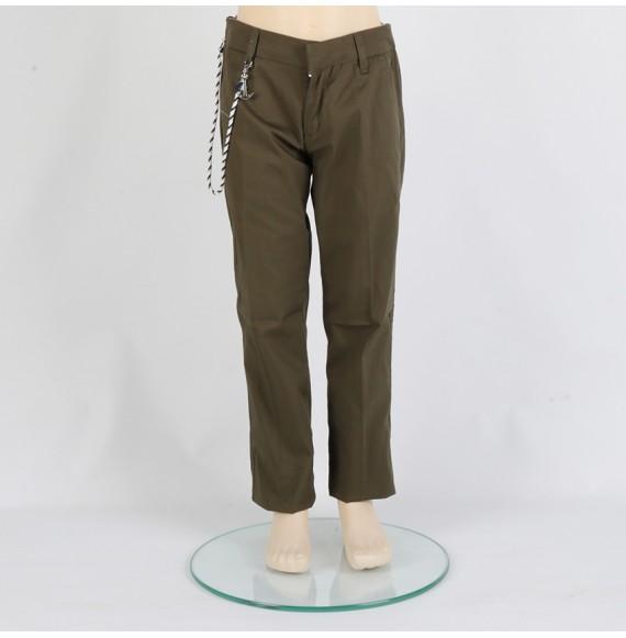 FRED MELLO - Pantalone in cotone con stampa sul retro
