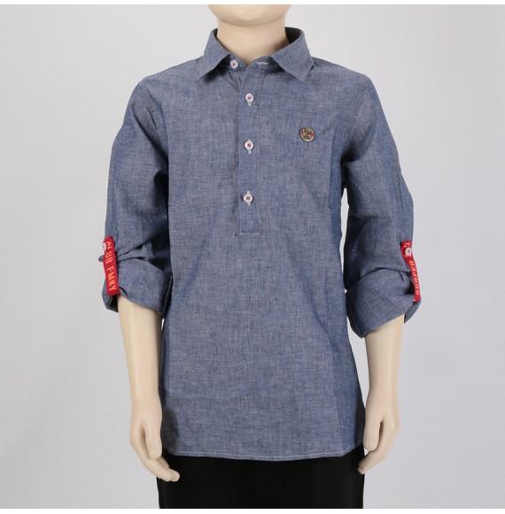 FRED MELLO - Camicia in lino e cotone
