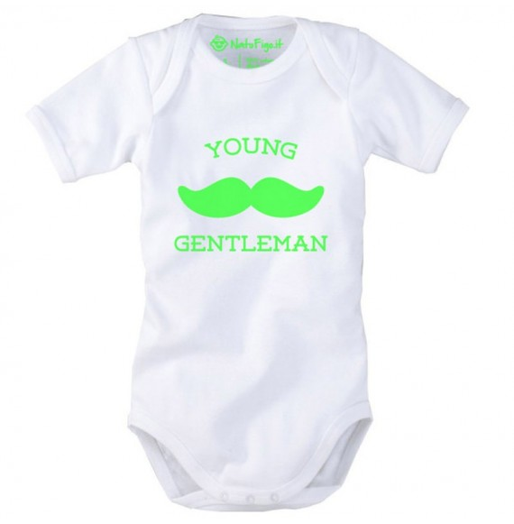 Body manica corta YOUNG GENTLEMAN