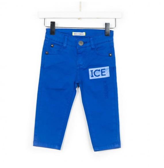 ICEBERG - Pantalone 5 tasche con stampa