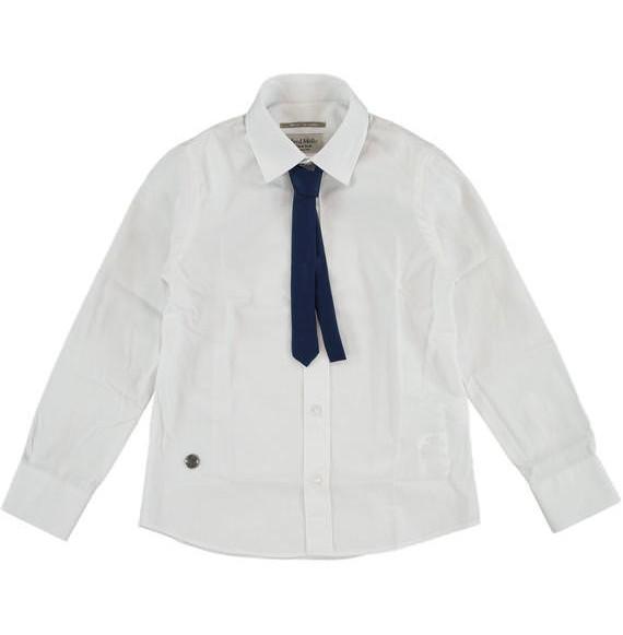 FRED MELLO - Camicia in cotone con cravatta