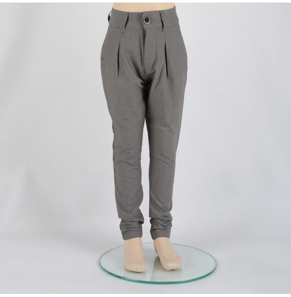 MADD - Pantalone cavallo basso con tasche a filo