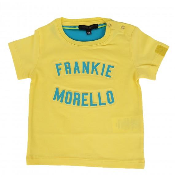FRANKIE MORELLO - T-shirt con stampa in rilievo