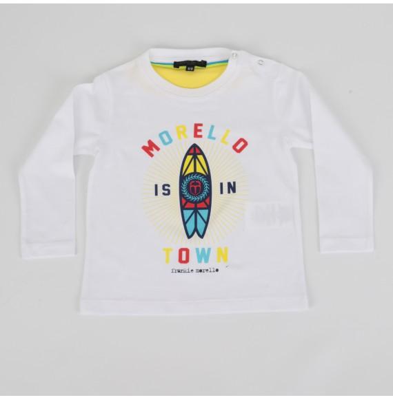FRANKIE MORELLO - T-shirt manica lunga con stampa