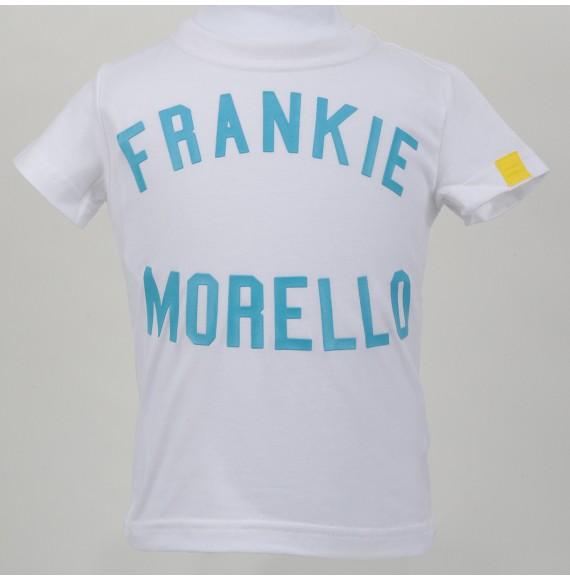 FRANKIE MORELLO - T-shirt girocollo con stampa in rilievo