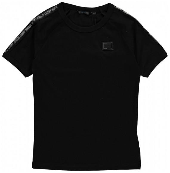 Antony Morato - T-shirt girocollo con nastro logato