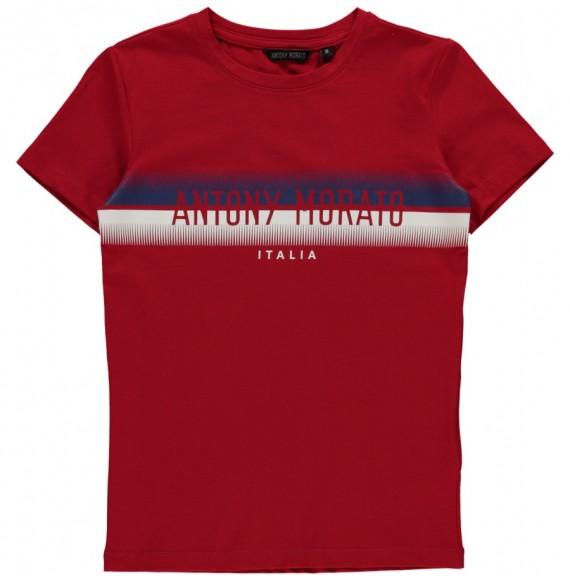 Antony Morato - T-shirt girocollo con stampa bicolore