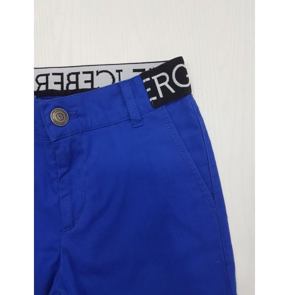 ICEBERG - Pantalone 5 tasche con elastico in vita