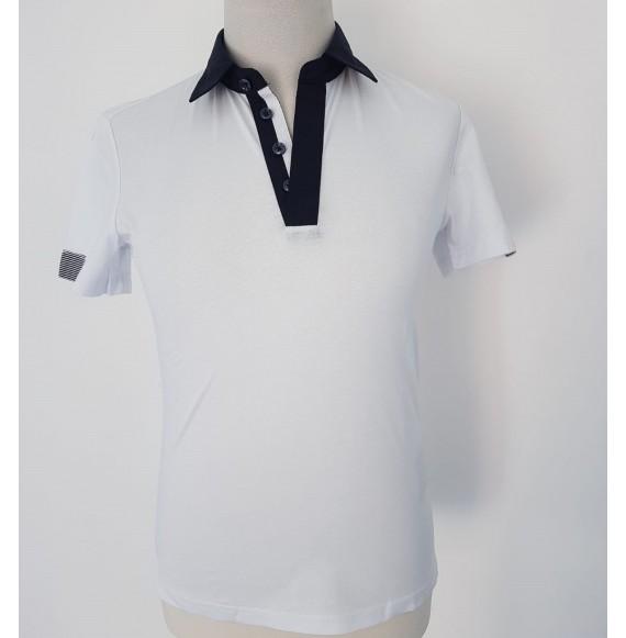 Antony Morato - Polo mezza manica con collo camicia