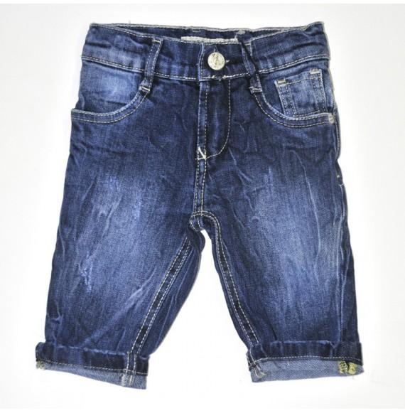 Jeans streach con lavaggio stropicciato