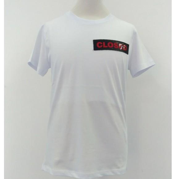 YES LONDON - Shirt con applicazioni e stampa sul retro