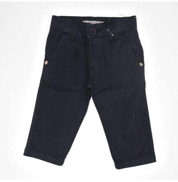 Pantalone con stampa pois
