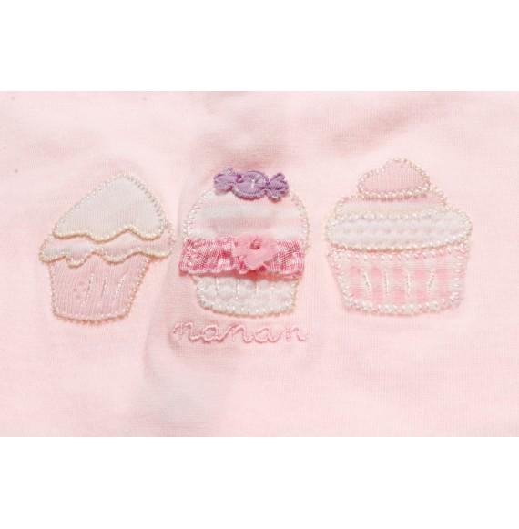 Nanan - Pagliaccetto in cotone con cupcake