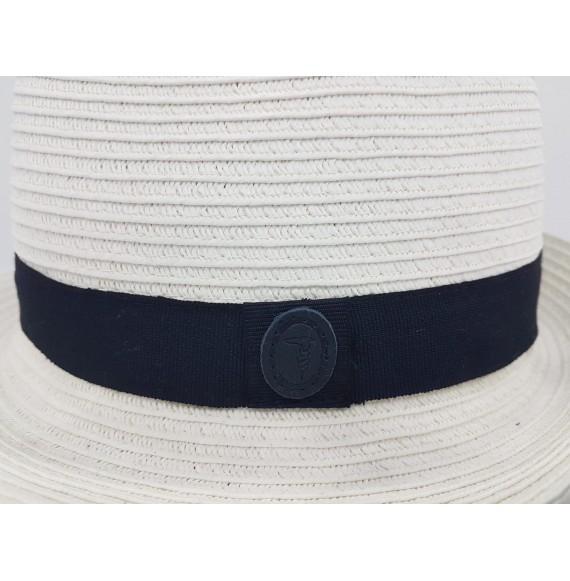 TRUSSARDI - Cappello panama in paglia