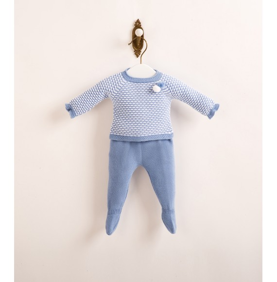 JULIANA - Completo in maglia con cuffia