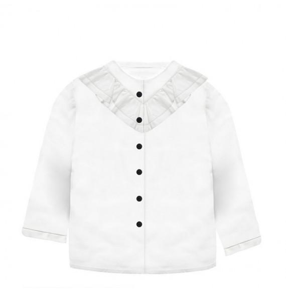 NANAN - Camicia con rouches