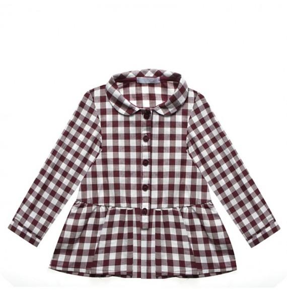 NANAN - Camicia scozzese