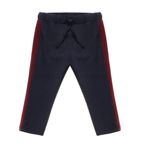NANAN - Pantalone con bande laterali