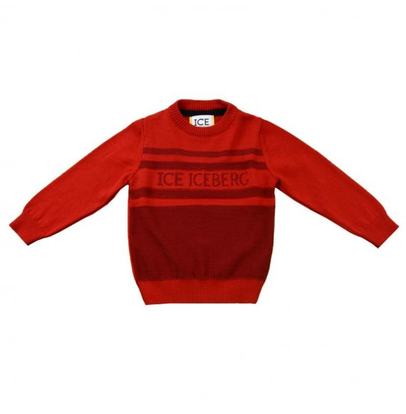 ICEBERG - Pullover girocollo bicolore