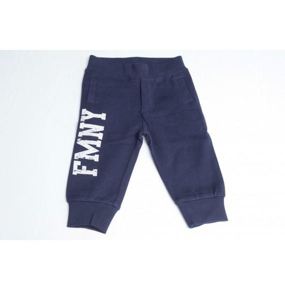 FRED MELLO - Pantalone in felpa con stampa e tasca in jeans