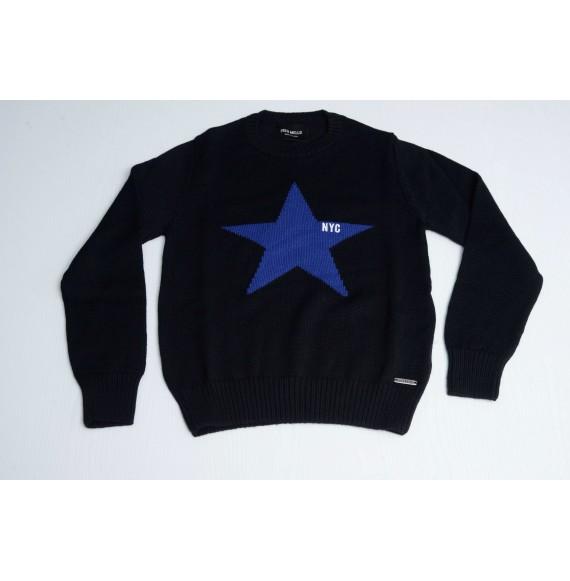 FRED MELLO - Pullover girocollo con stella