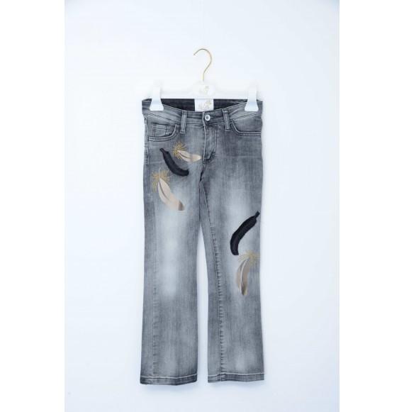 NOLITA - Jeans a zampa con applicazioni