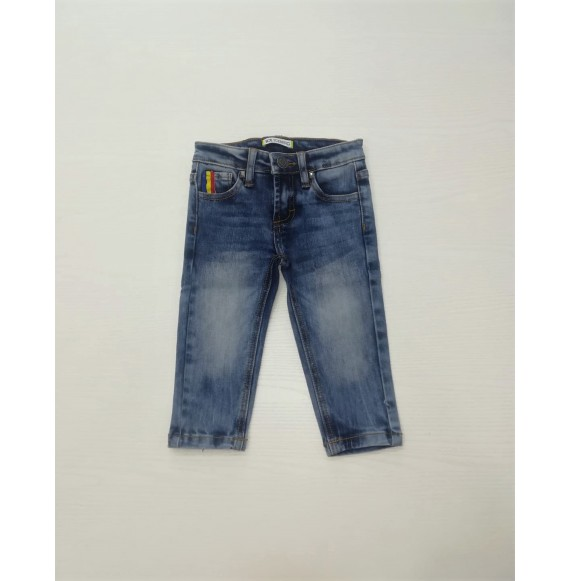 ICEBERG - Jeans délavé 5 tasche