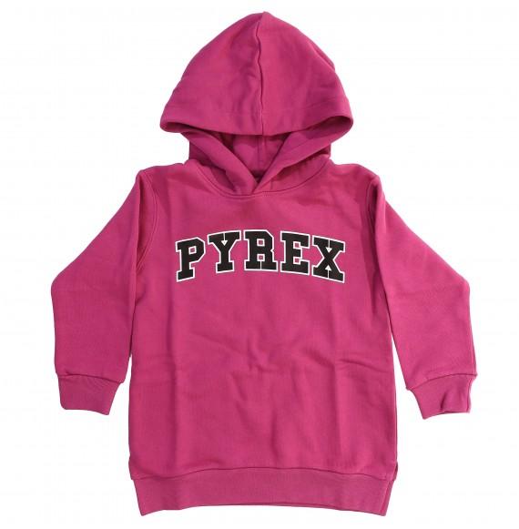 PYREX - Maxi felpa con stampa
