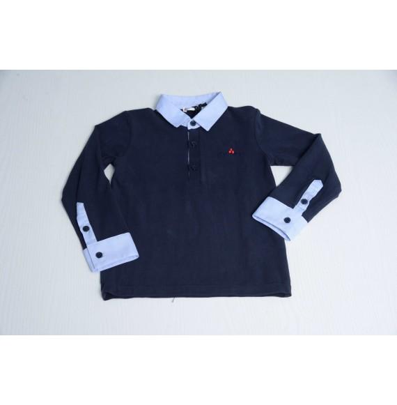PEUTEREY - Polo con collo e polsini camicia