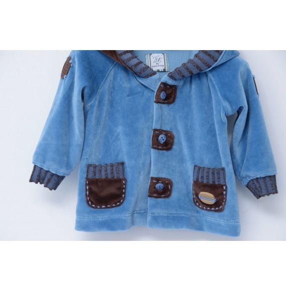 JOHN TWIG - Completo 3 pezzi salopette,camicia e giacca in ciniglia