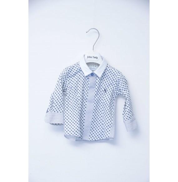 JOHN TWIG - Completo 4 pezzi giacca,pantalone,camicia e papillon