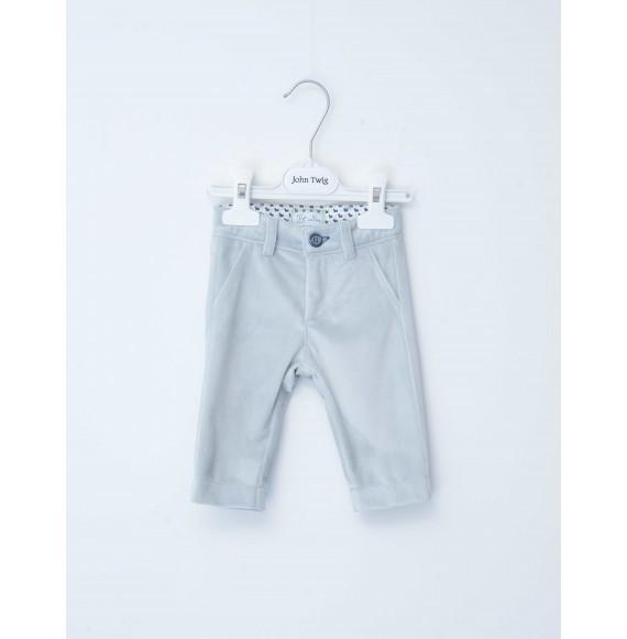 JOHN TWIG - Completo pantalone in velluto con cardigan e finta camicia