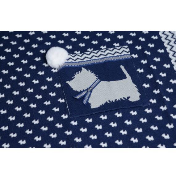 JOHN TWIG - Copertina scialle in maglia