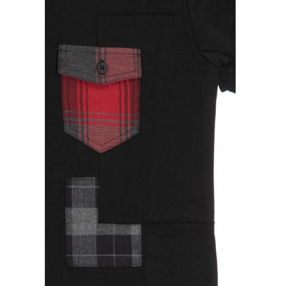 ANTONY MORATO - T-shirt manica corta con taschino in tessuto