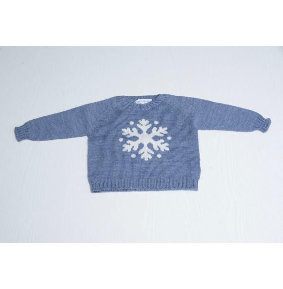 Fina Ejerique - Pullover girocollo con fiocco di neve
