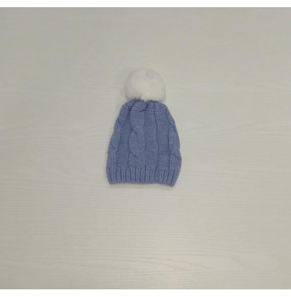 Martin Aranda - Cappello in lana con trecce e pon pon