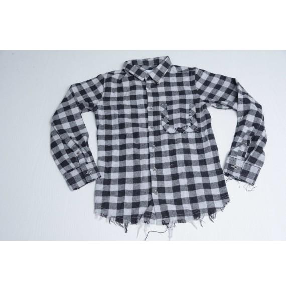 BERNA - Camicia a quadri in flanella