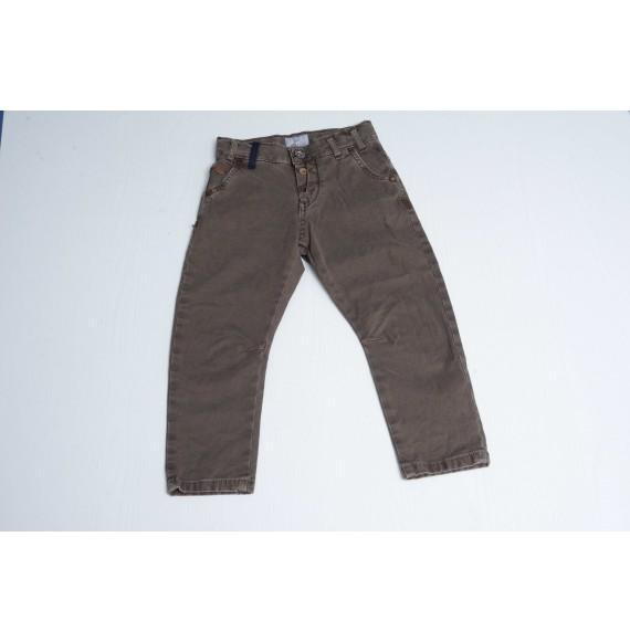 BERNA - Pantalone con inserti in jeans
