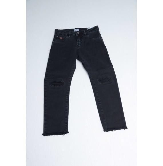 BERNA - Pantalone in jeans con strappi