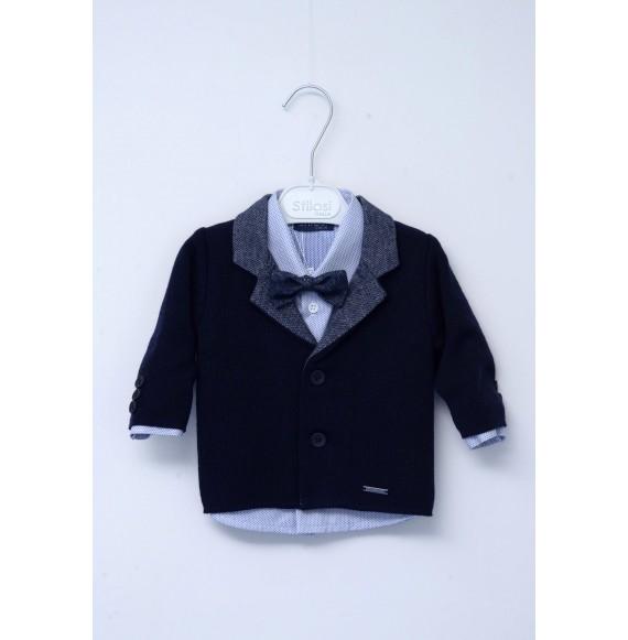 STILOSI - Completo 4 pezzi con giacca in maglia