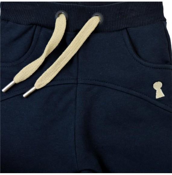 MY CLOSET- Pantalone in felpa cavallo basso