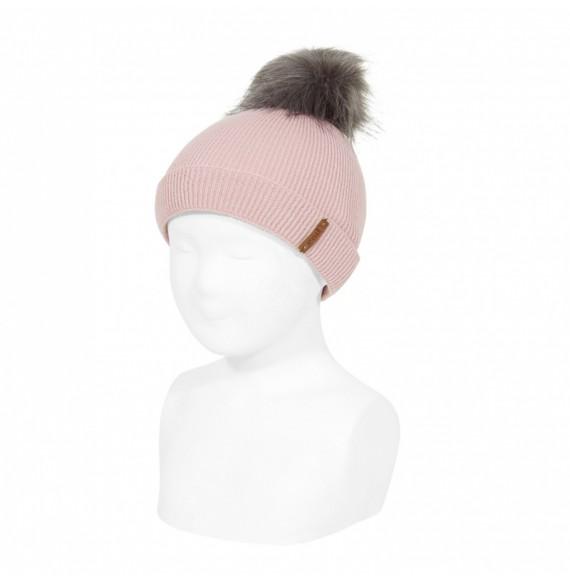CONDOR - Cappello in lana con pon pon