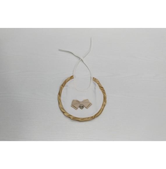 PIGNATELLI - Bavetta con fiocco dorato