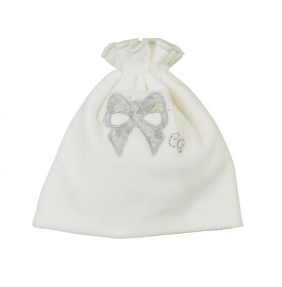 PIGNATELLI - Cappellino in cinigila con fiocco