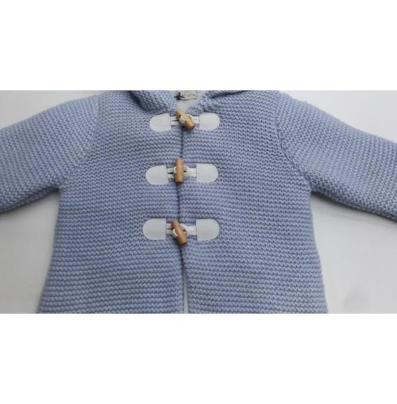 J.O. MILANO - Montgomery in lana con cappuccio