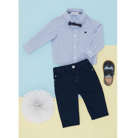 ARMANI - Pantalone 5 tasche in cotone